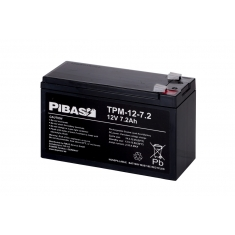 12 V 7 Ah AGM/Gel-Batterie TPS-12-7