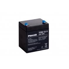 12 V 5 Ah AGM/Gel-Batterie TPM-12-5